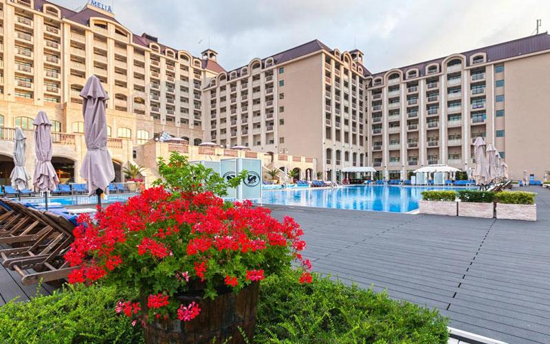 هتل ملیا گرند هرمیتاج آل اینکلوسیو ، یک هتل لوکس در بلغارستان