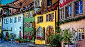 میرزبورگ دهکده ای دنج در جنوب آلمان